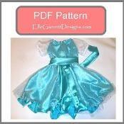 Elsa Princess Twirl Dress - via @Craftsy