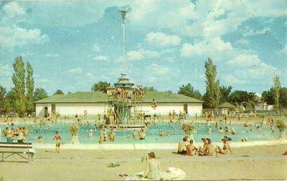 Old Mcpherson Swimming Pool With Sand Around It Places To Visit Favorite Places State Of Kansas