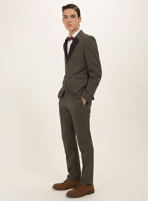 Dark Sand Taylor Peak Suit | 251 USD From Topman