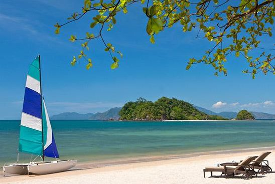 Beach at the Andaman Hotel - Langkawi - Malaysia