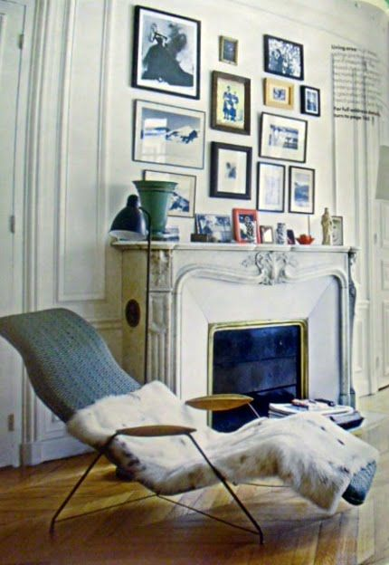 Wall Decor Above Fireplace : A gallery wall above fireplace is just fantastic idea
