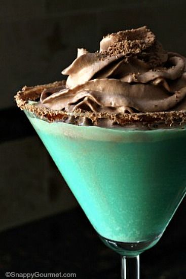 ... drinks fiesta drinks and more mint chips chocolate thin mints recipe
