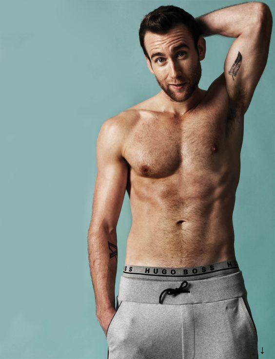 Matthew Lewis got some dank abs