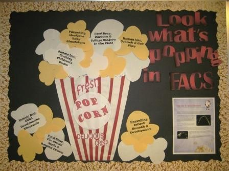 great bulletin boards and lesson ideas on this website for FACS