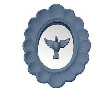 Moldura Espelhada Espírito Santo Bowe - Azul