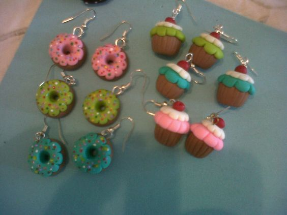 Zarcillos en Masa Flexible hechos x mi: Mass, Dough, Search, Creaxiones Con, Bisutería Para, Con Google, Crafts In, Earrings
