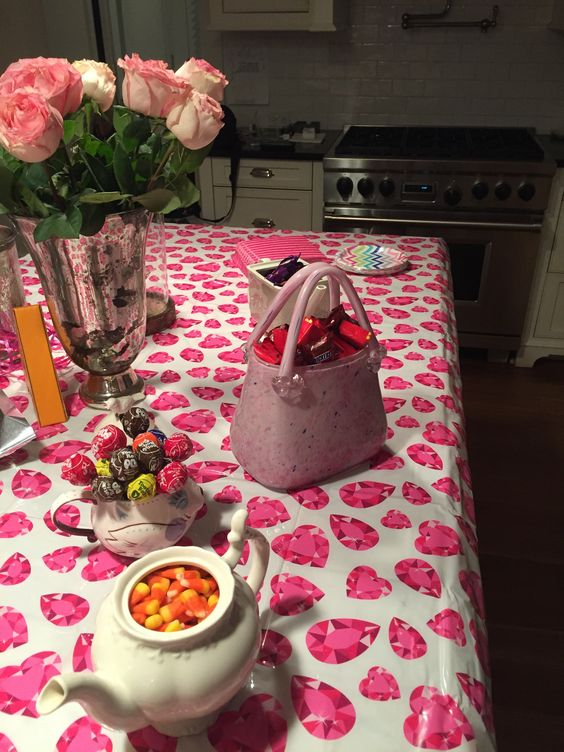 Candy bar for tween party