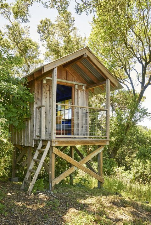 19 Treehouses Your Kids Will Beg You To Build Simple Tree House Tree House Diy Beautiful Tree Houses