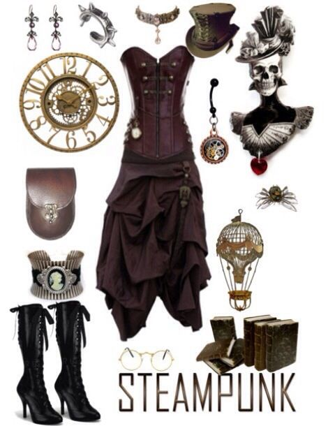 steampunk and inspiration on pinterest