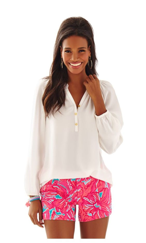 Check out this product from Lilly - Elsa Top  http://www.lillypulitzer.com/product/tops-bottoms/tunics-shirts/elsa-top/pc/243/c/45/8397.uts