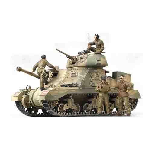 "Armored Car Tank Military Model 1/35 M3 Grant ""El-Alamein"" #T13228"