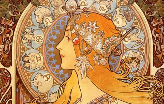 mucha art | Fonte: Artigo Ilustração de Moda: Primórdios a 1990, de Paula Perez ...
