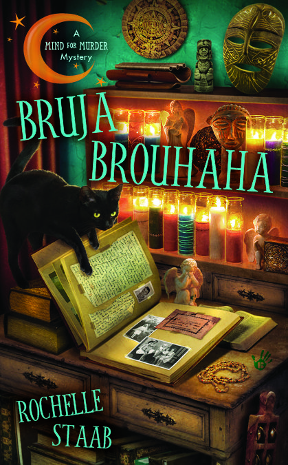 My gorgeous BRUJA BROUHAHA cover— Release date August 7. So excited!