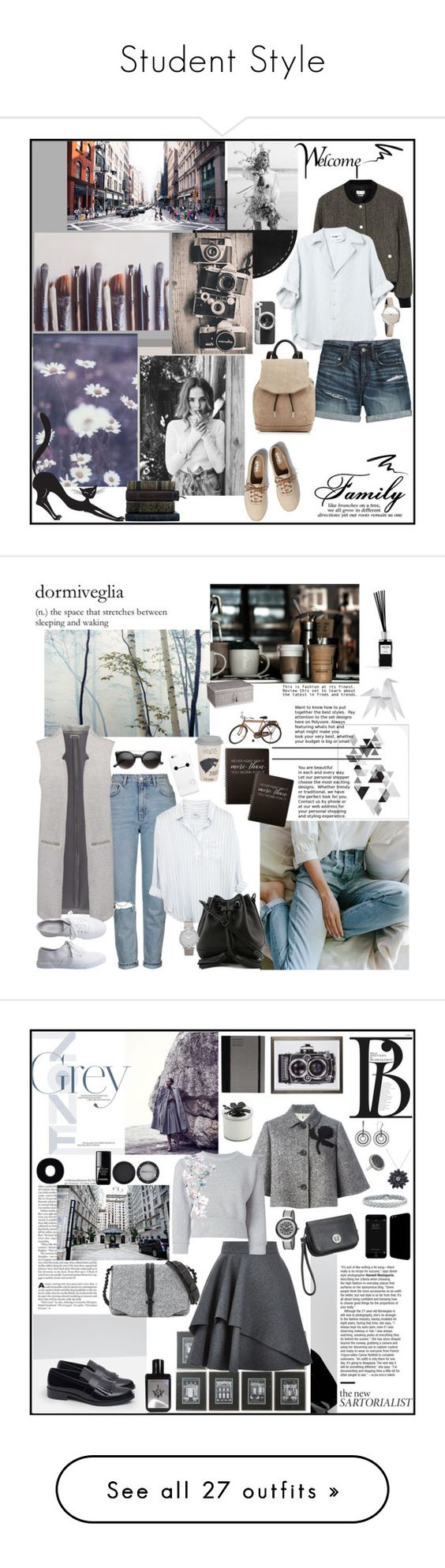 """Student Style"" by mariettamyan ❤ liked on Polyvore featuring Ella Doran, Étoile Isabel Marant, Canvas by Lands' End, Keds, rag & bone, Casetify, Calvin Klein, Eyeko, Topshop and Aéropostale"