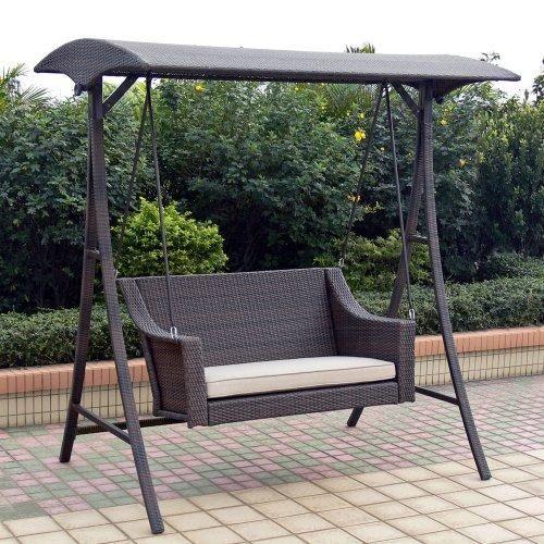 Wonderful Swings | Outdoor Patio Swings 2047 Outdoor Patio Home Rolston Wicker Porch  ... | Garden Ideas | Pinterest | Outdoor Patio Swing, Patio Swing And Swings