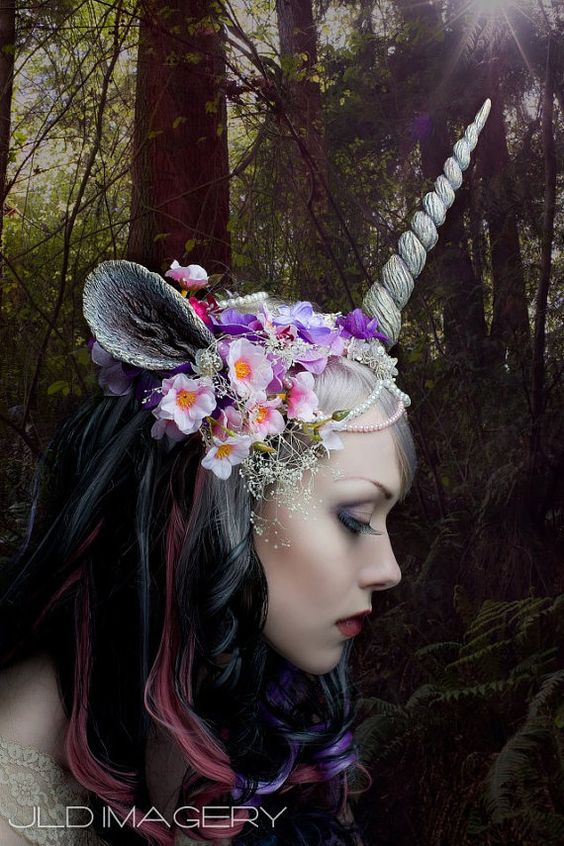 Customizable Unicorn Horn and Ears by idolatre on Etsy, $44.00:
