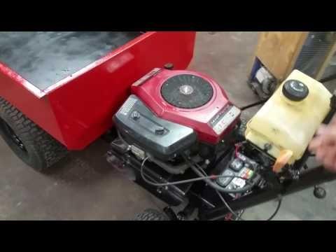 10 Ways To Repurpose A Lawn Mower Engine Survivopedia Lawn Mower Powered Wheelbarrow Wheelbarrow