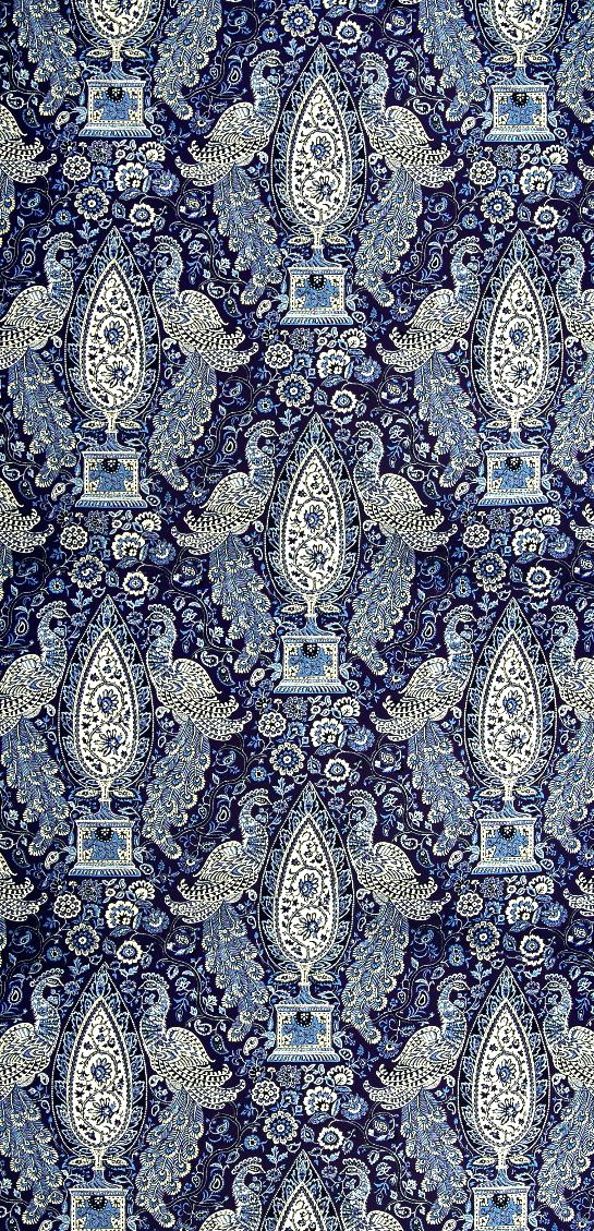 insidefabric.com - Indian Empress in indigo
