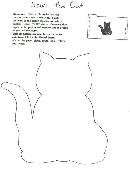 Scat The Cat Literacy Activities Pinterest Cat