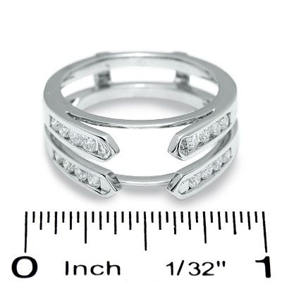 Cathedral setting ring wrap  THIS IS WHAT I HAVE BEEN LOOKING FOR!!!