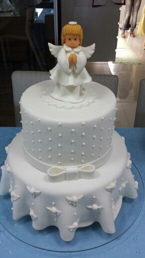 Bolos Cake Design Lisboa : Bolo Primeira Eucaristia Thais Cake Design para Festa em ...