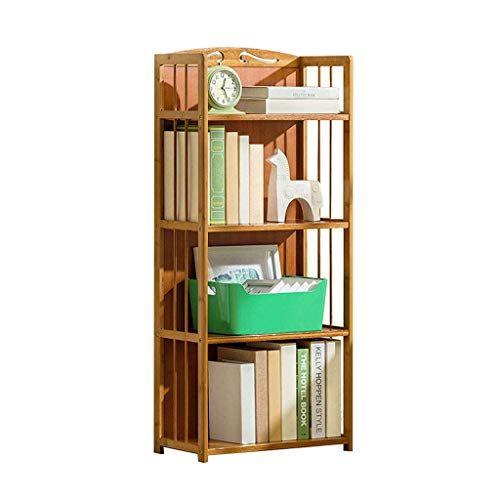 Jiaz Shelf Bookshelf Bookcases Simple Bamboo Flower Stand 4