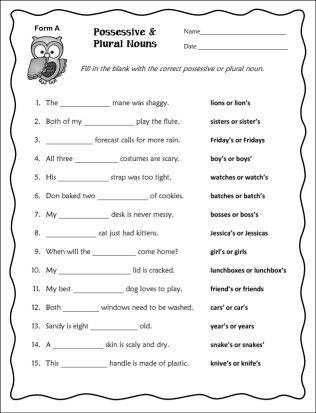 singular and plural worksheets for grade 1 pdf