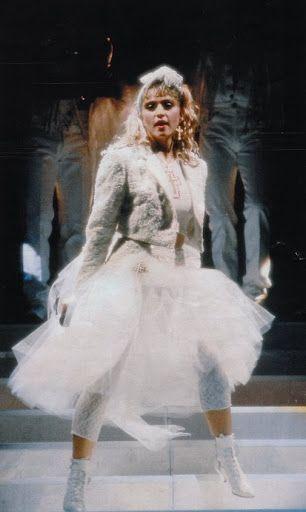 Madonna….The Like A Virgin tour