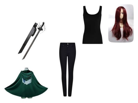 """Untitled #72"" by rainbowkittykitty ❤ liked on Polyvore featuring Armani Jeans and Twenty"