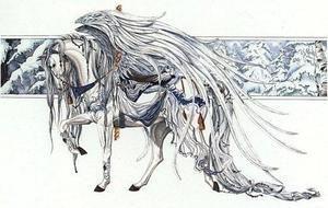 Angel White, Carousel Horse 5
