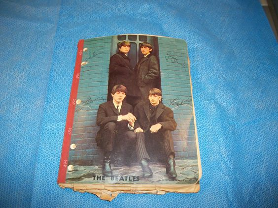 Beatles Note Book Filled With News