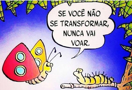 Lagarta e borboleta
