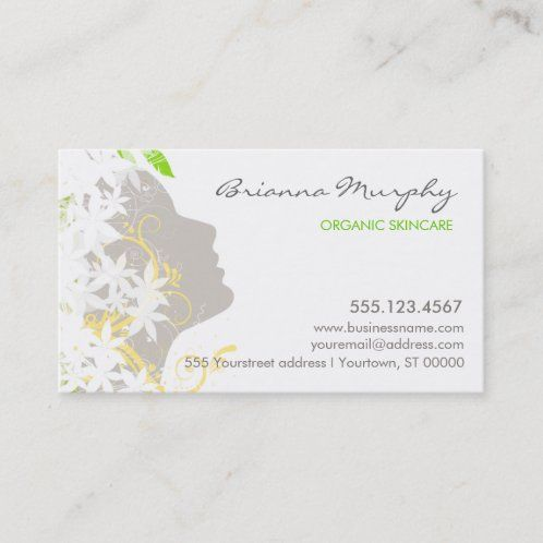 Aesthetician Business Cards Zazzle Com In 2021 Beauty Business Cards Beauty Business Business Cards