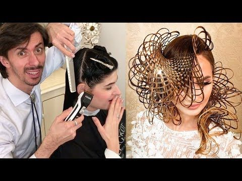 The Art Of Hairstyling 2018 By Georgiy Kot Youtube Hair Styles Hair Movie Crazy Hair