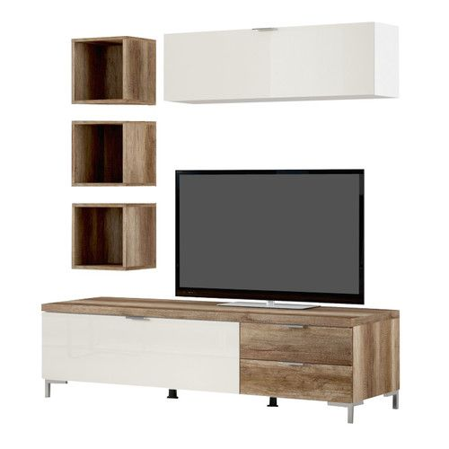 Good CS Schmal Cleo TV Stand For TVs Up To 64