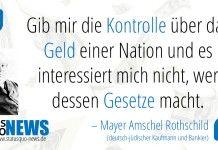 Mayer Amschel Rothschild:  die 13 blutlinien der illuminaten sind das wahre übel auf diesem planeten