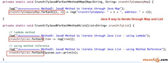 New: In #Java 8 How to Iterate Through java.util.Map n List? #Example attached with Total 5 Different Ways http://crunchify.me/1VIwm0l #job
