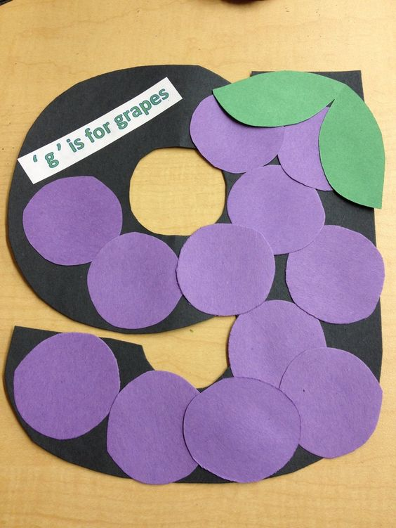 Letter G Crafts Preschool Pinterest