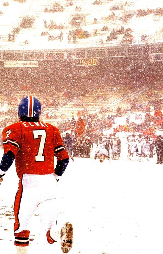 John Elway, as ofm 2014, the second best QB in Pro Football history to Tom Brady!