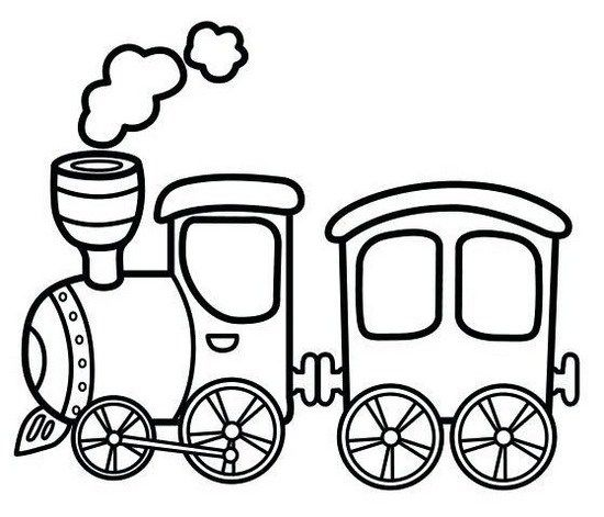 Antique Steam Train Cartoon Coloring Sheet Online Train Coloring Pages Train Cartoon Coloring Pages