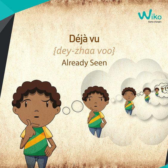 Deja vus .... what does it mean?