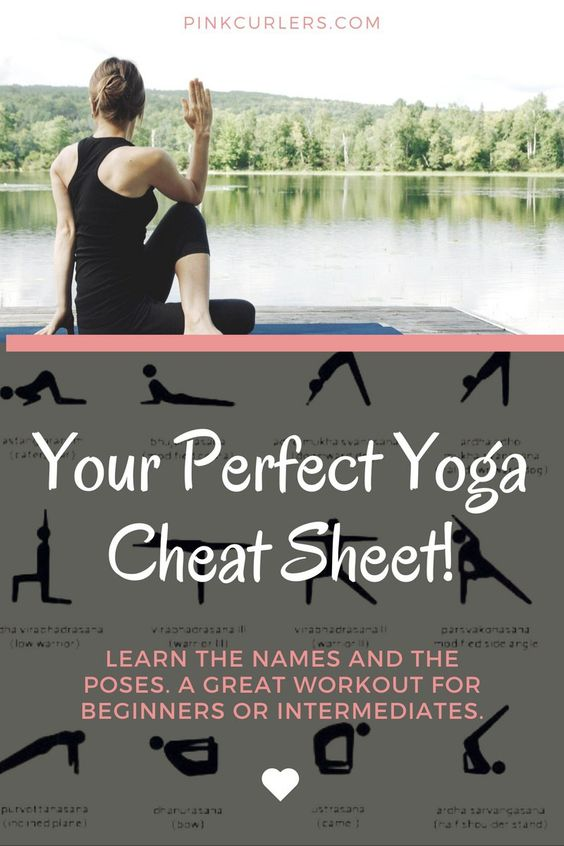 Your Yoga Cheat Sheet