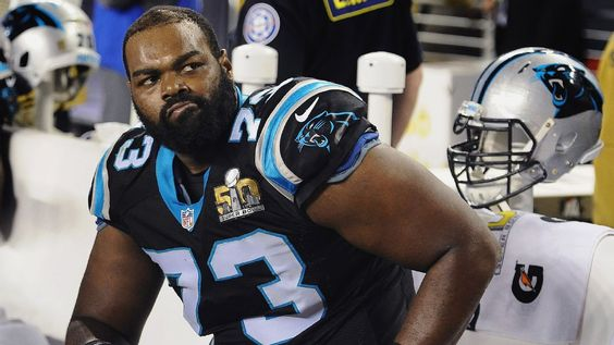 Panthers tackle Michael Oher gets the last laugh on 'The Blind Side'