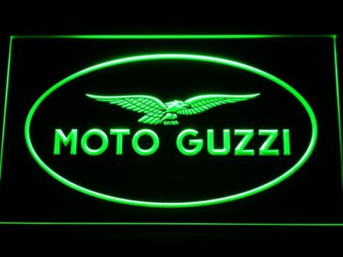 Moto Guzzi Motorrad Display Club Pub Led Neonzeichen Leuchtschild Leuchte Lampe We Offer 7 Colors For Your Choice Red B Led Neon Signs Neon Signs Moto Guzzi