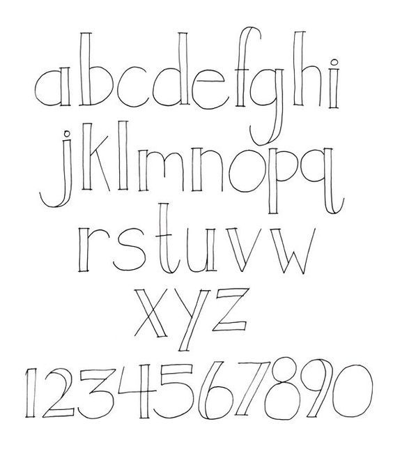 Creative+Hand+Lettering+Alphabets | creative hand lettering ...
