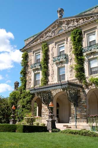 Kykuit, the Rockefeller Estate in Sleepy Hollow country, NY