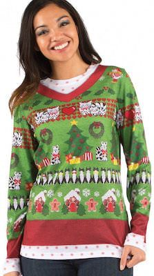 Crazy Cat Lady Christmas Sweater.