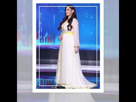 رؤى الصبان أجمل إطلالات لها بألقفطان المغربي في جميع حلقات آخر كلام على قناة دبي2020 Youtube