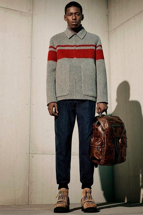 Alexander Wang fall winter 2015 #menswear collection #trends #tendencias #moda hombre   M.F.T.