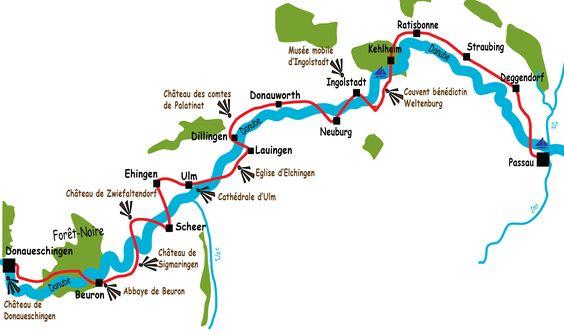 A vélo le long du Danube de sa source à Passau | Le Vélo Voyageur
